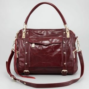 Rebecca Minkoff Burgundy Cupid Handbag